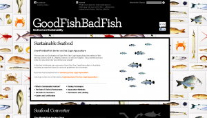 GoodFishBadFish Website Screenshot